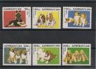 AZERBAIDJAN Chiens N° Y/T : 261/266** - Azerbaïdjan