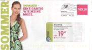 BRD Haibach Infopost Allemagne FRW 2015 Adler Mode Sommer Frau Strandkleid - Textil