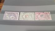 LOT 284651 TIMBRE DE FRANCE OBLITERE N�206 A 208 VALEUR 65 EUROS