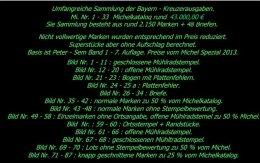 Bayern - Kreuzerausgaben Mi. Nr. 1 - 33, Ca. 2150 Marken. Michel Rund 40.000,00 € - Bayern