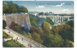 CPA - Luxembourg - Vallée De La Petrusse Et Passerelle    // - Luxembourg - Ville