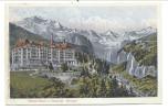 CPA - Suisse - Schweiz - Palace Hôtel U. National - WENGEN   //