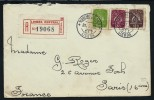 PORTUGAL - Enveloppe En Recommandée Pour La France En 1952 - A Voir - Lot P12871 - Lettres & Documents