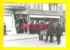 OOSTENDE  +/-1958 BEGRAFENIS LEURS WINKEL VOEDINGSWAREN ARTMA * CAFÉ NAVY CORONA FOTO Photo Ca103x148mm Funérailles 1470 - Lieux