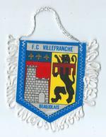 Fanion Football L'équipe De Villefranche - Apparel, Souvenirs & Other