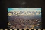 CP, Etats Unis, Air View Of Salt Lake City  Edition Bonneville News Co Lastichrome - Non Classés