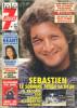 Télé 7 Jours N° 1676 - Semaine Du 11 Au 17 Juillet 1992 - Patrick Sébastien, Dechavanne, Bruel, Franck Fernandel - 1950 - Nu