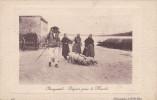 CPA PLOUGASTEL DEPART POUR LE MARCHE - Plougastel-Daoulas