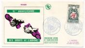 TOGO => Enveloppe FDC => 10eme Anniversaire Des Droits De L'Homme - LOME - 1958 - Togo (1960-...)
