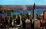 NEW YORK      45      View From RCA Building Looking East Showing United Nations Building - Multi-vues, Vues Panoramiques