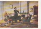 32424- NIKOLAI GE- PUSHCHIN VISITING PUSHKIN AT MIKHAILOVSKOYE, PAINTING - Peintures & Tableaux