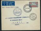SUISSE - Enveloppe Du Vol Aarau - Bellinzona En 1938 Pour La France - A Voir - Lot P12915
