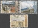 Great Britain. 1971 ´Ulster 1971´ Paintings.  Used Complete Set. SG 881-883 - 1952-.... (Elizabeth II)