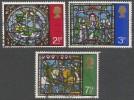 Great Britain. 1971 Christmas.  Used Complete Set. SG 894-896 - 1952-.... (Elizabeth II)