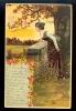 Woman / Relief Postcard / Postcard Circulated - Femmes