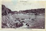 SANARY SUR MER  (cpa 83)  Plage De Port Issol   - Vue Rare - - Sanary-sur-Mer
