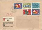 Zwitserland Registered Cover Bern 26/5/1964 (Michel 791/794) St. Bernhardtunnel - Zwitserland