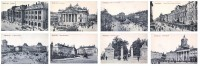 Lot Série De 8 Cartes CPA De BRUXELLES BRUSSELS -  TTBE Cartes Vierges - Belgique