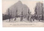 25311 PARIS -11 NOVEMBRE 1920 FETES CINQUANTENAIRE REPUBLIQUE - 70 Drapeaux Gambetta- AP