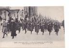 25313 PARIS -11 NOVEMBRE 1920 FETES CINQUANTENAIRE REPUBLIQUE -defilé Drapeaux Arc Triomphe- AP