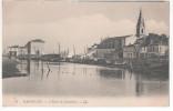 CP MARTIGUES (13 B Du R) Eglise Jonquières Animée Barques Maisons Marins Pêcheurs - Martigues