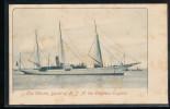 Angleterre --  Bateau -- The Thistle, Yacht Of H.L.M. The Empress Eugenie - Non Classés