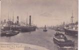 POSTAL DE UN BARCO EN EL MUELLE DE BUENOS AIRES DEL AÑO 1919 (BARCO-SHIP) ARGENTINA - Comercio