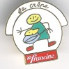 Pin´s Francine: La Crêpe - Pin's & Anstecknadeln