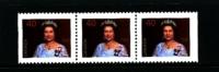 CANADA - 1990  40c  QUEEN ELISABETH  STRIP FROM BOOKLET  MINT NH - 1952-.... Regno Di Elizabeth II