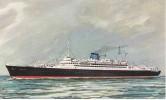 POSTAL DEL BUQUE CARIBIA DE GRIMALDI SIOSA LINES  (BARCO-SHIP) - Comercio