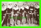 SPORT DE HOCKEY - WOMEN'S HOCKEY TEAM, CA 1910 - TOWN OF OKOTOKS ALBERTA MUSEUM & ARCHIVES - - Sports D'hiver