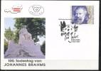 Österreich-   - FDC -1997  -  Mi.Nr.    2218 - 2219   - 100. Todestag Von Johannes Brahms, 200. Geburtstag Von Franz  Sc - FDC