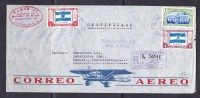 ESK - 225 R-LETTER FROM GUATEMALA TO CZECHOSLOVAKIA. - Guatemala