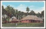 POS-91 CUBA CIRCA 1950 POSTCARD PAISAJE DEL CAMPO, BOHIOS. LANDSCAPE COUNTRY HUTS. UNUSED - Cuba