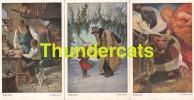 SERIE DE 6 CPA ILLUSTRATEUR E ELSSNER PINX CONTE HISTOIRE ARTIST SIGNED FAIRY TALE ** RUBEZAHL - Contes, Fables & Légendes