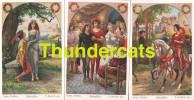 SERIE DE 6 CPA ILLUSTRATEUR O. HERRFURTH  PINX CONTE HISTOIRE ARTIST SIGNED FAIRY TALE ** SIEBENSCHON - Contes, Fables & Légendes