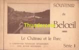 CARNET DE 10 CPA  ALBUM SOUVENIR DE BELOEIL LE CHATEAU ET LE PARC SERIE 1 - Beloeil