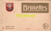 CARNET DE 10 CPA  ALBUM SOUVENIR BRUXELLES SERIE 1 - Avenues, Boulevards
