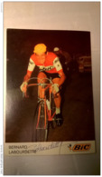 Bernard Labourdette BIC Autographe - Cycling