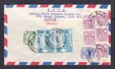 ESK - 239 LETTER FROM BURMA TO BREMEN GERMANY. - Myanmar (Birmanie 1948-...)