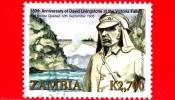 ZAMBIA  - Usato - 2006 - 150 Anniversario Di David Livingstone - 2.700 - Zambia (1965-...)