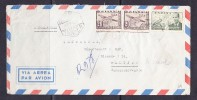 ESK - 244 AIRMAIL-LETTER FROM TANGER TO CZECHOSLOVAKIA. - Maroc Espagnol