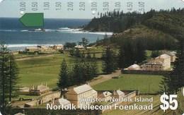 *NORFOLK ISLAND* - Scheda Usata - Norfolk Eiland