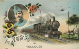 TOULOUSE  UN BAISER - Toulouse