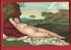 MBI-10  Peinture, Venus Nue.  Circulé - Museen