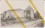 55 MEUSE  VILLE EN WOEVRE  Canton De ETAIN  CARTE PHOTO ALLEMANDE  MILITARIA 1914/1918 WW1 WK1 - Francia