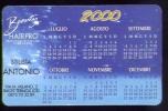 Calendarietto 2000 - Beanty  Hairpro Tricological Center - Termoli - Formato Piccolo : 1991-00