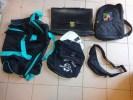 Lot De Sac A Dos NAF NAF Et Autres  Attache Caisse Ou Cartable Cuir-- - Vintage Clothes & Linen