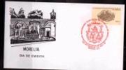 E) 1991 MEXICO, MORELIA, 450 TH ANNIVERSARY OF THE CITY OF MORELIA, FDC - Mexico