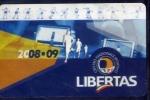 Tessera - Libertas - C.n.s. - 2008-2009 - Documentos Antiguos